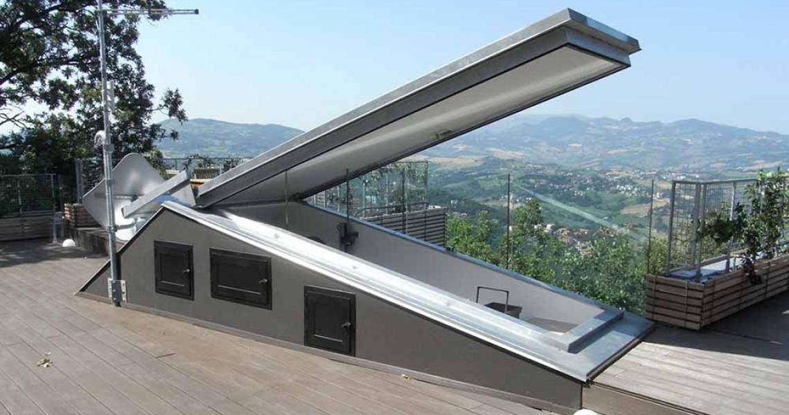 Раздвижные крыши