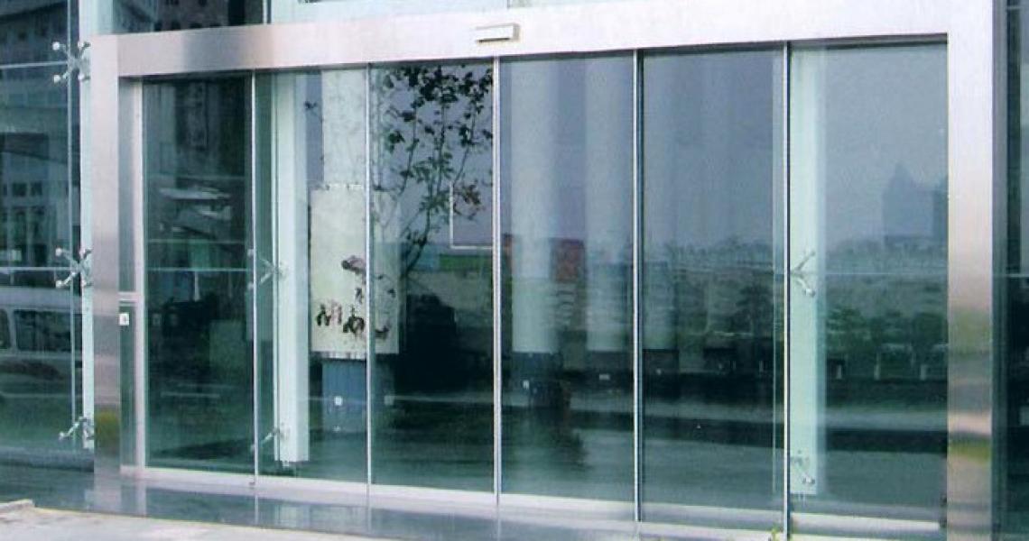 Телескопические раздвижные двери